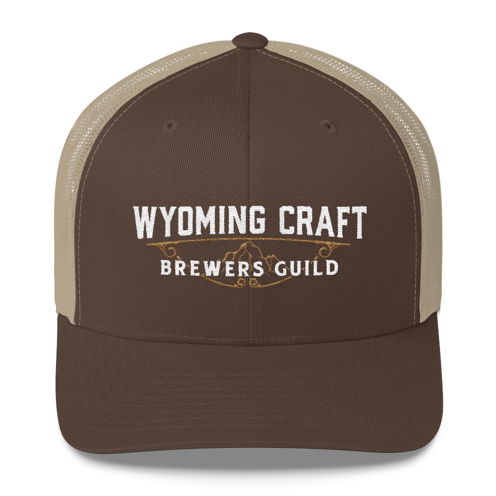 Wyoming Craft Brewers Guild Mid Profile Trucker Hat